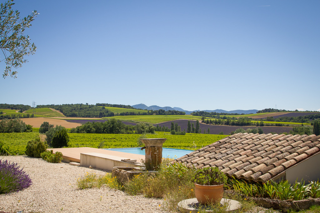 view from Domaine l'Ancienne Ecole