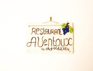 Restaurant 'A Ventoux' in Mazan