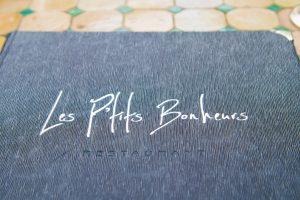 Lunch @ Les P'tits Bonheurs in Villes-sur-Auzon